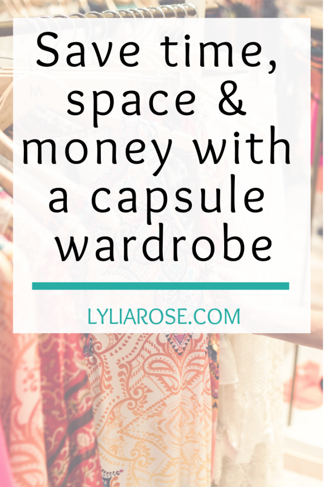 Save time, space and money with a capsule wardrobe