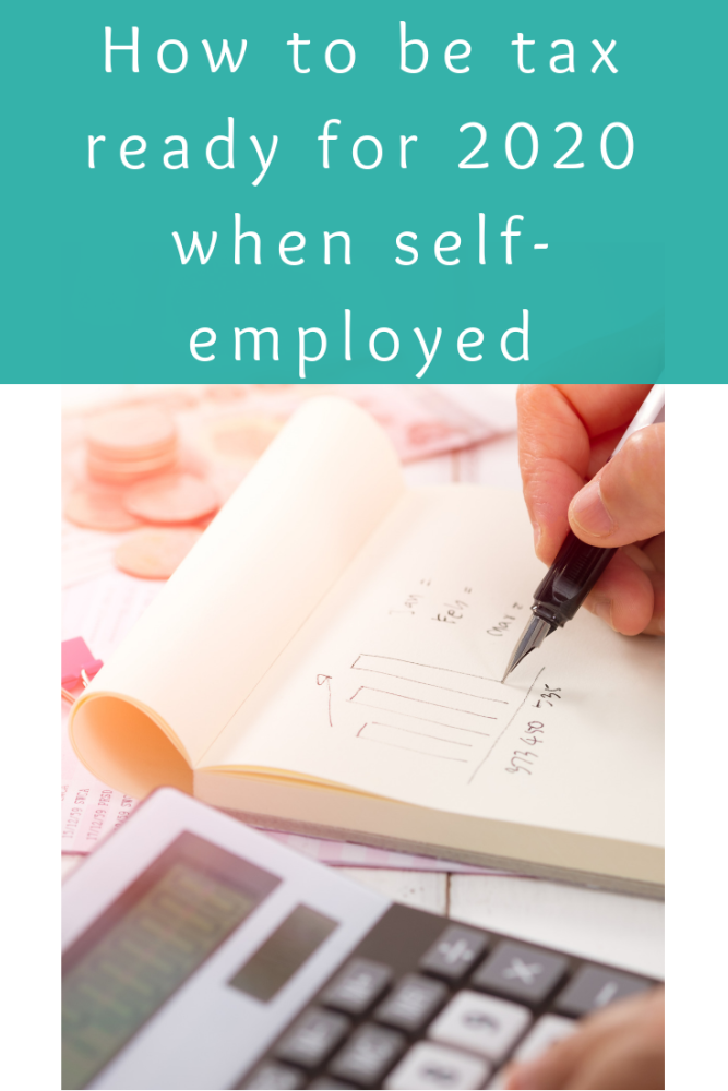 How to be tax ready for 2020 when self-employed