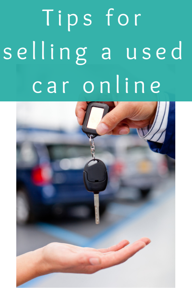 Tips for selling a used car online