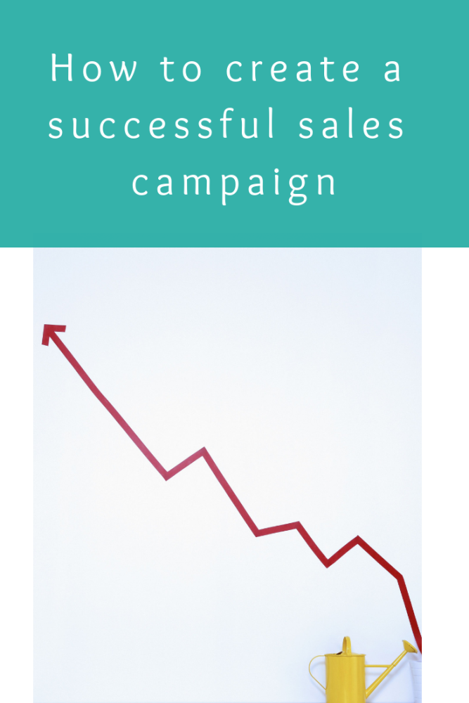 How to create a successful sales campaign for your small business or blog (