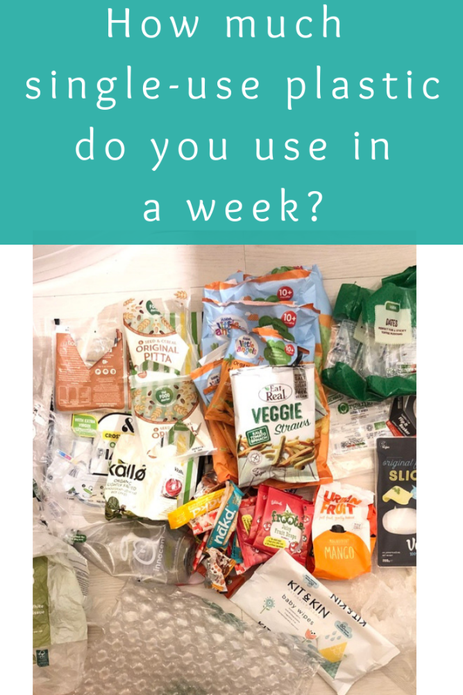 How much single-use plastic do you use in a week_