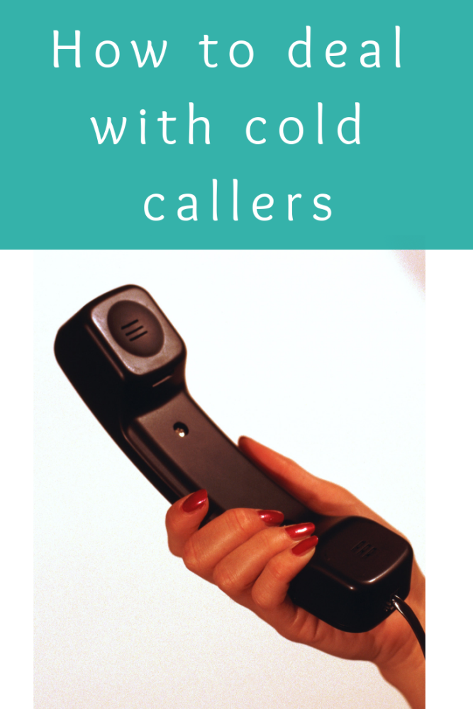 How to deal with cold callers (1)