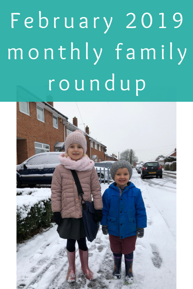 February 2019 monthly family roundup and photos
