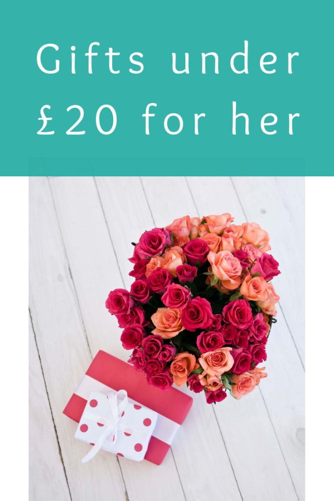 Gifts under £20 for her