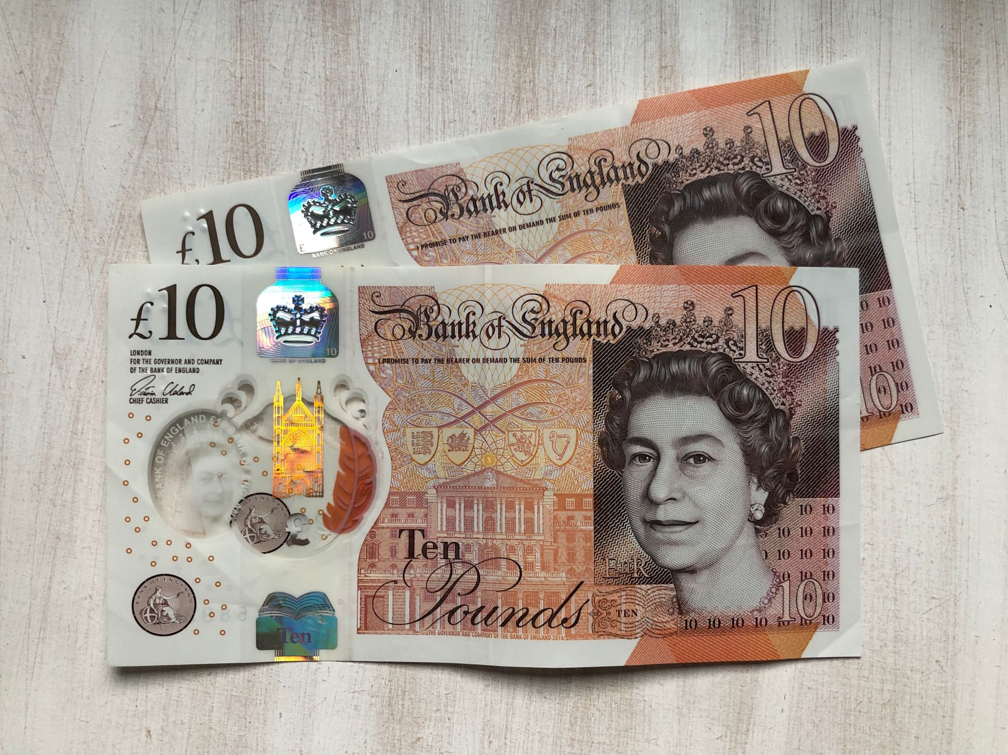 Free stock images money bloggers blog photos ten pound note £10 ten