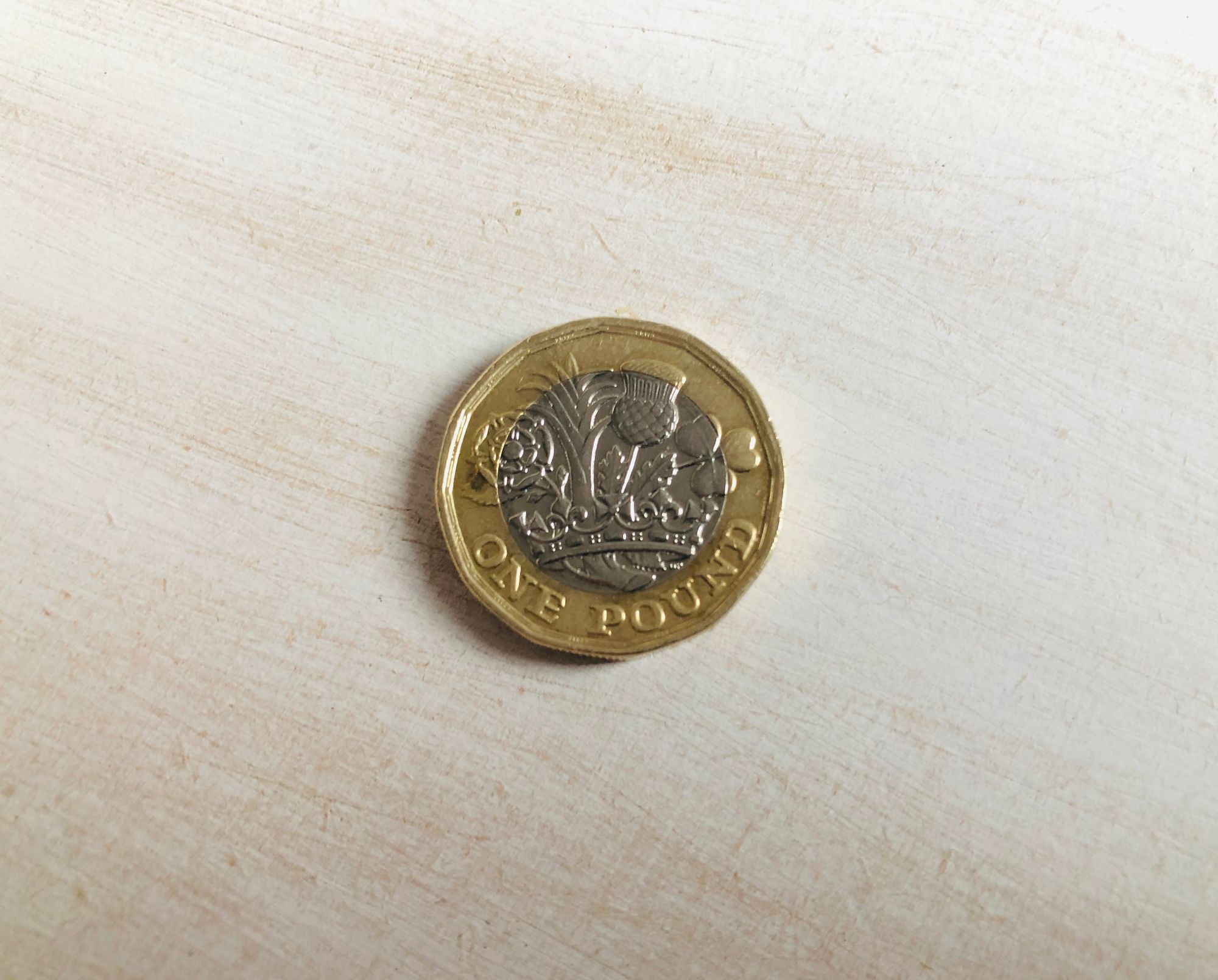 Free stock images money bloggers blog photos one pound coin GBP