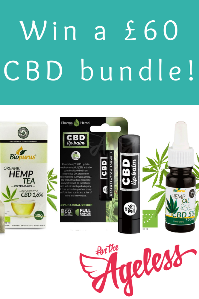 for the Ageless giveaway - Win a CBD bundle worth £60