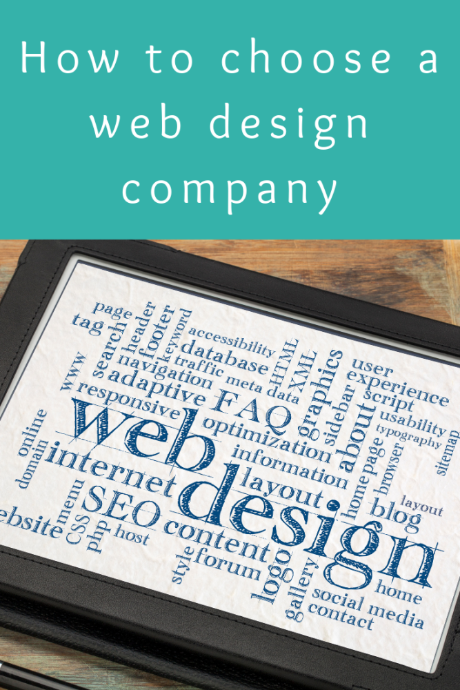 How to choose a web design company (1)