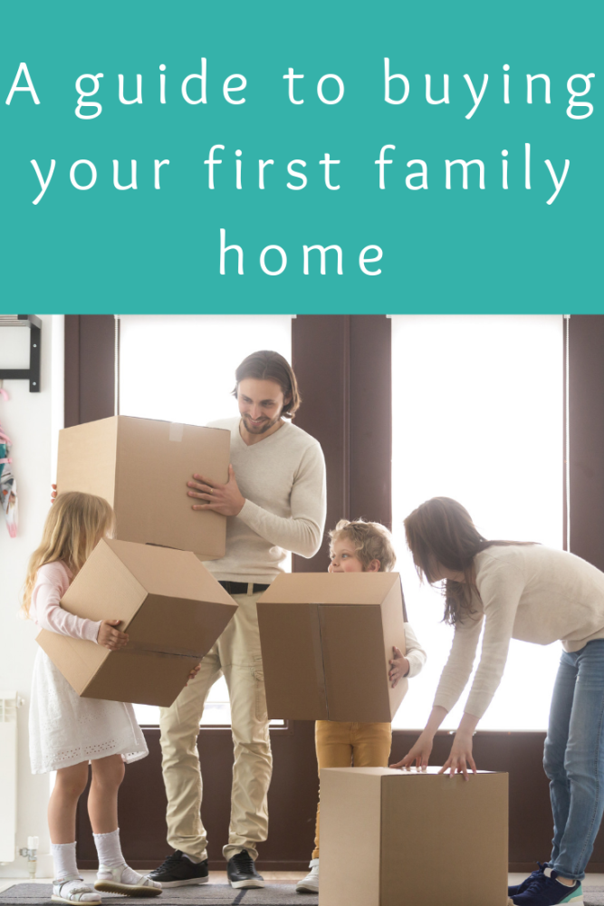 A guide to buying your first family home (1)
