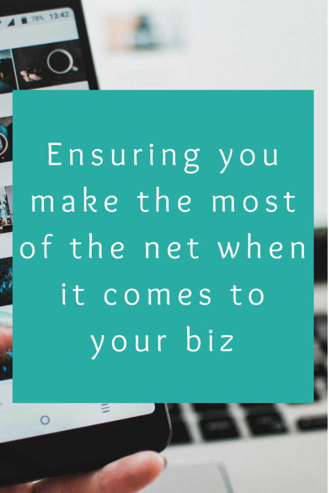 Ensuring you make the most of the net when it comes to your biz (1)