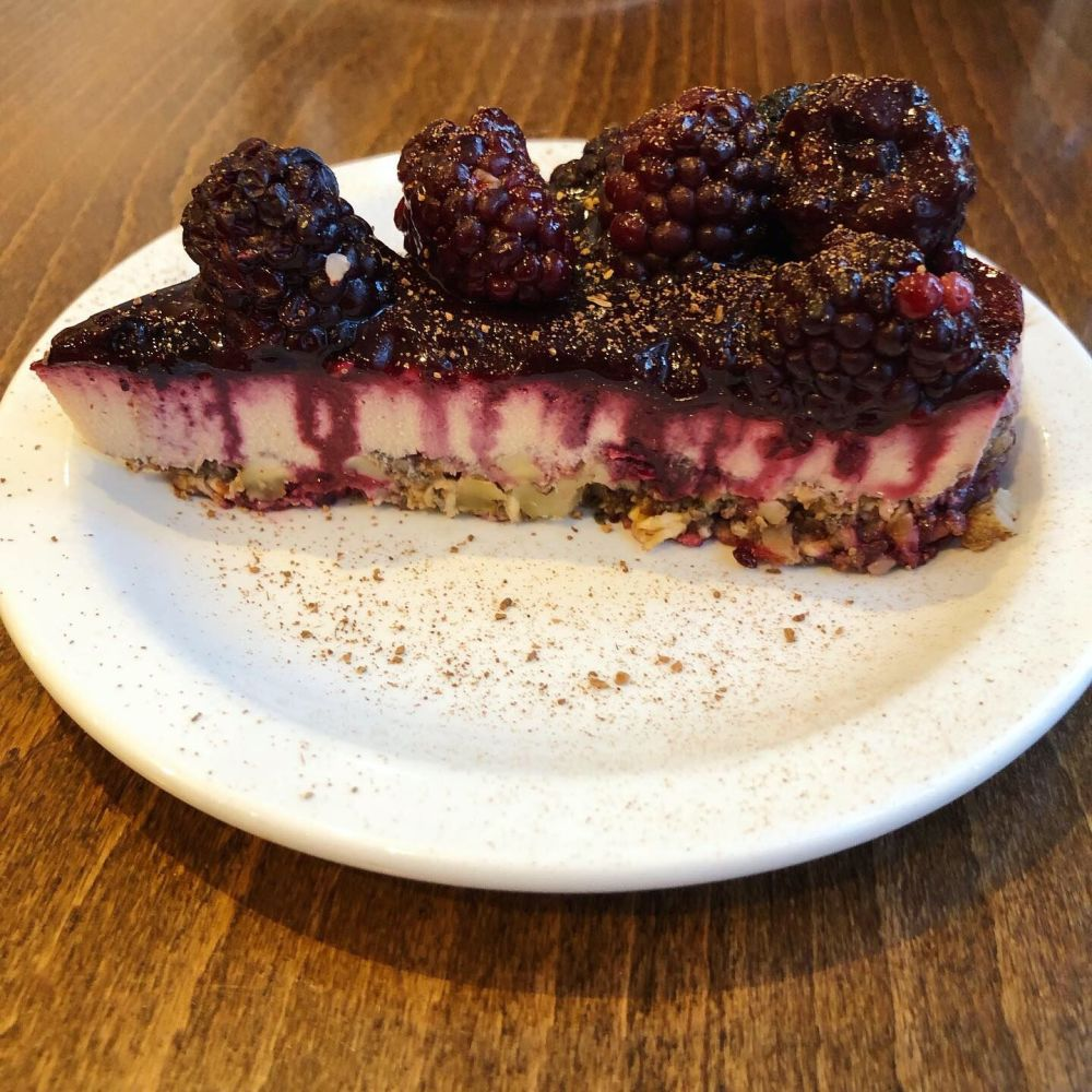 vegan cheesecake vinnies eatery