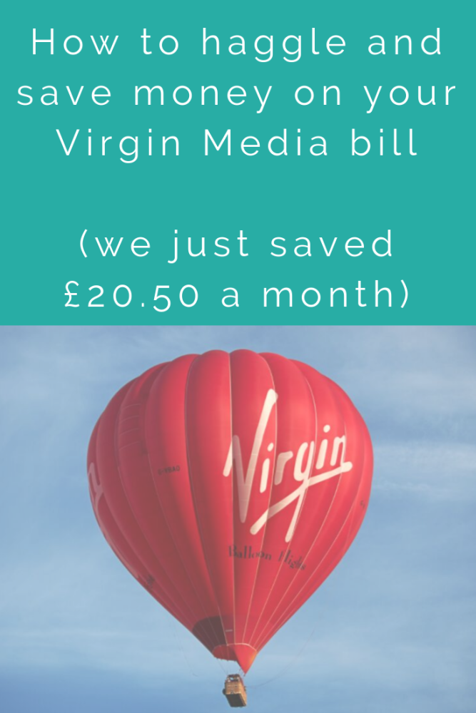 How to haggle and save money on your Virgin media bill (1)