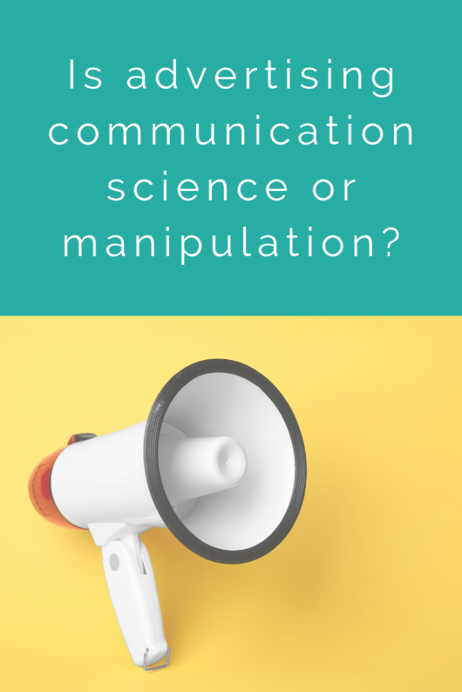 Is advertising communication science or manipulation_ (1)