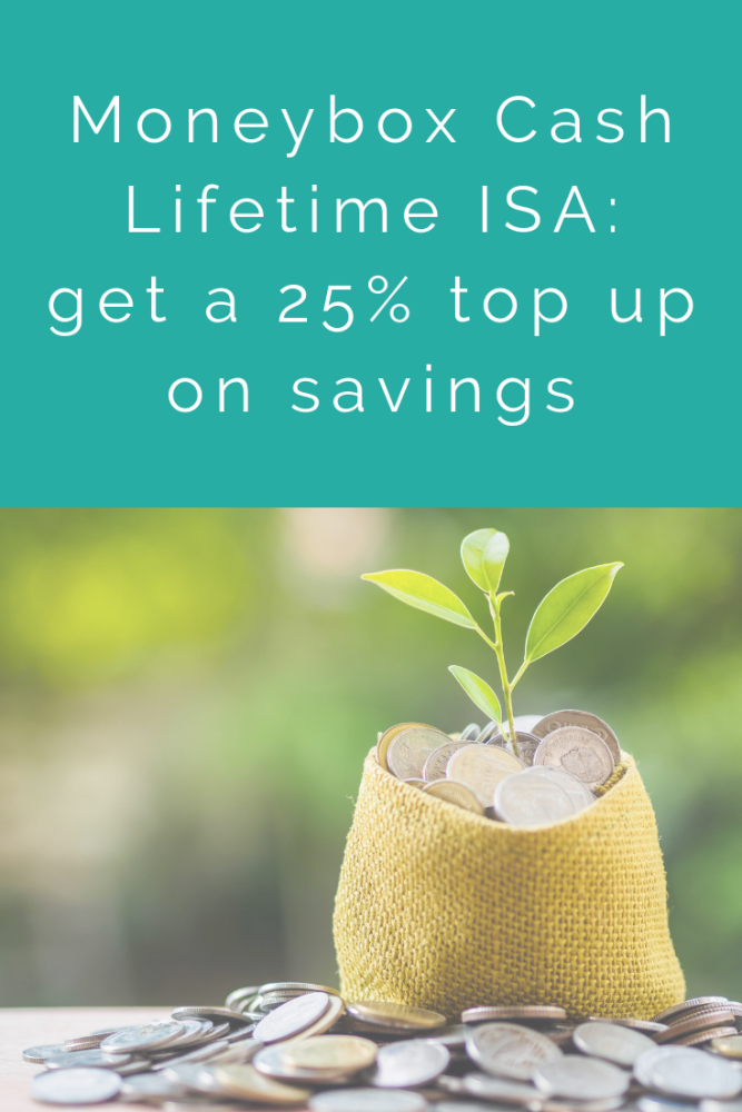 Moneybox Cash Lifetime ISA_ get a 25% top up on your LISA savings
