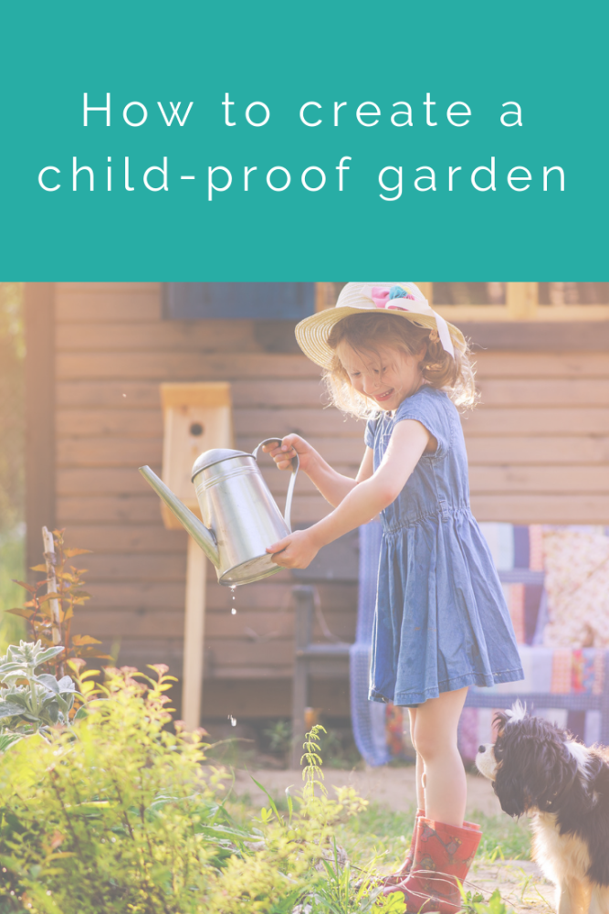 How to create a child-proof garden (1)