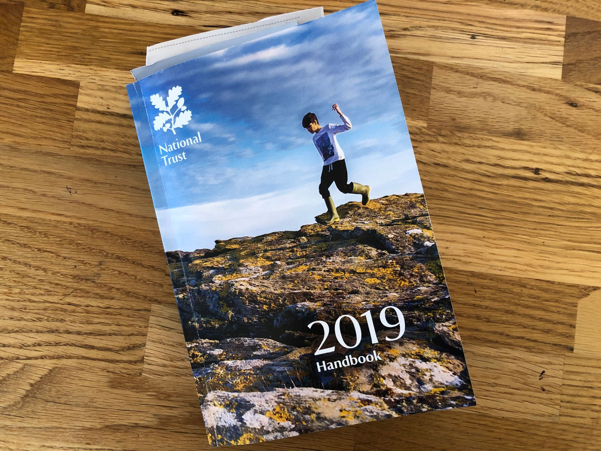 free stock image photo national trust membership book guide 2019