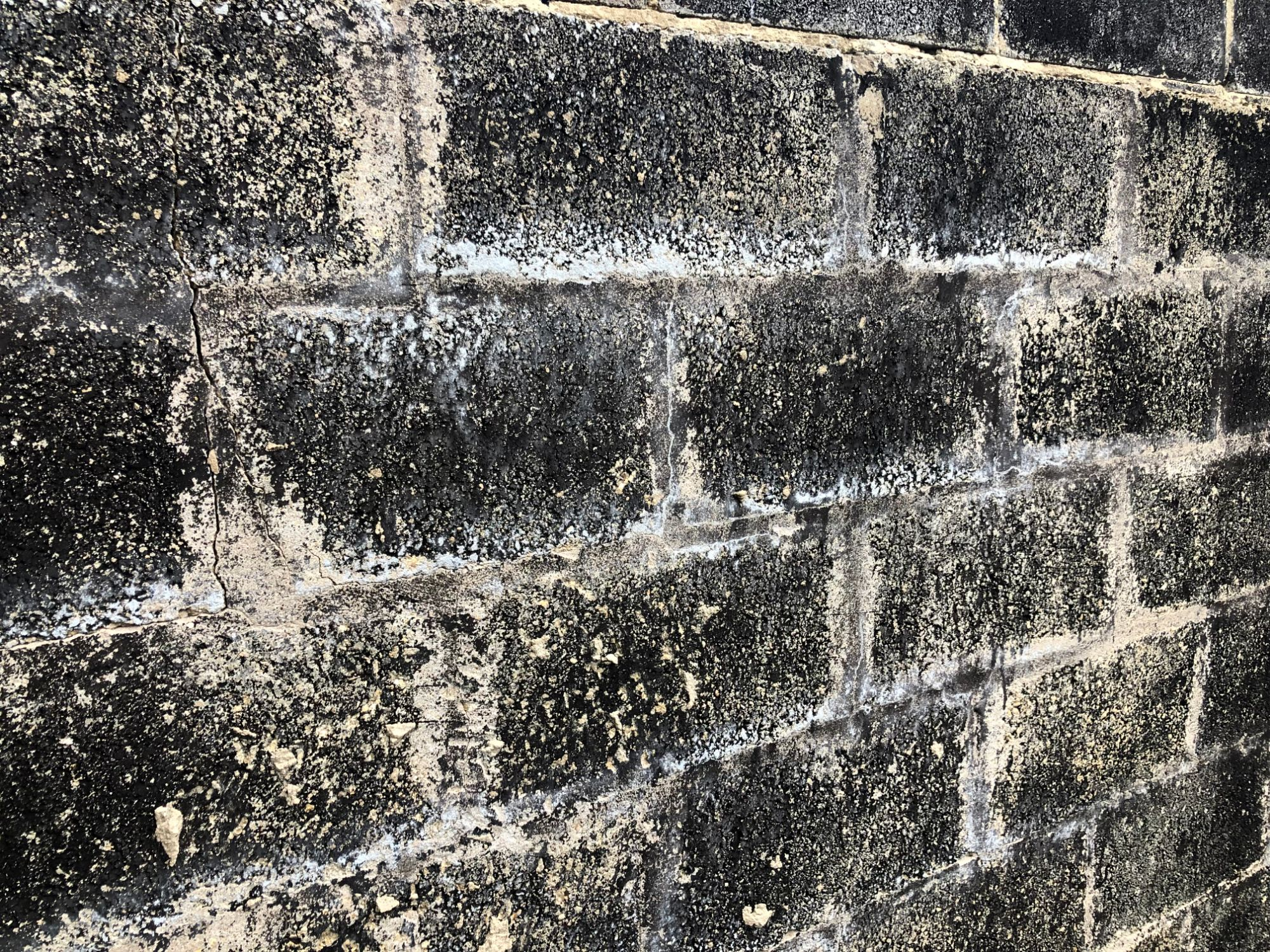 free stock image photo old black breezeblocks