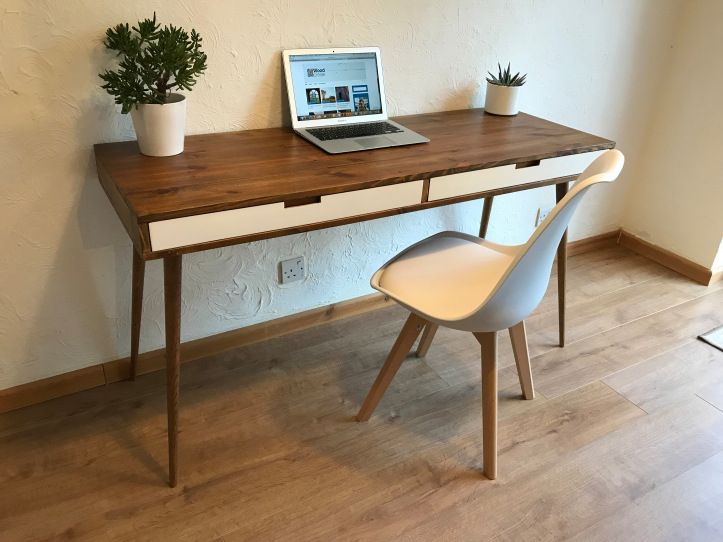 free stock image photo retro mid century desk