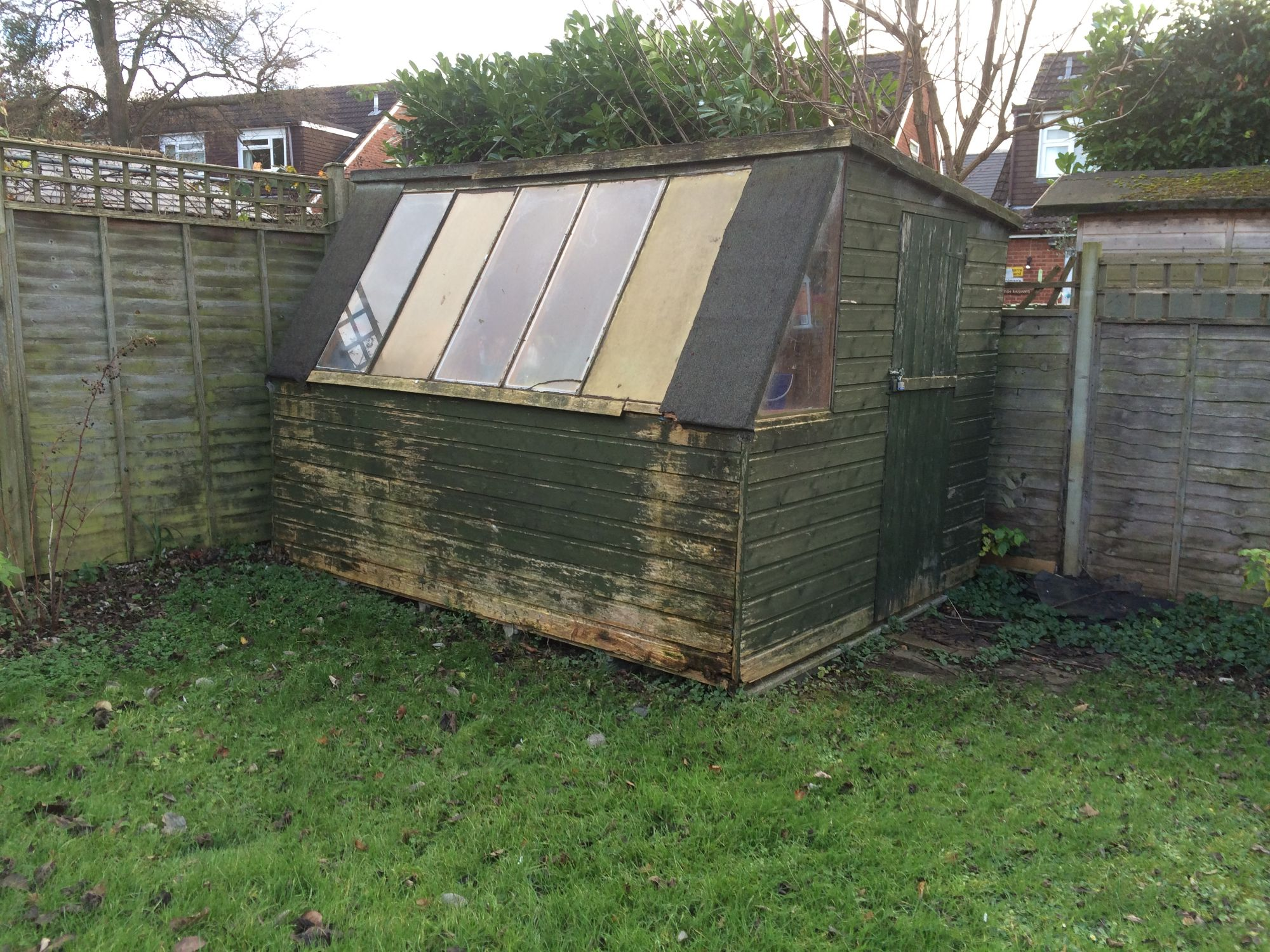 free stock image photo old garden shed