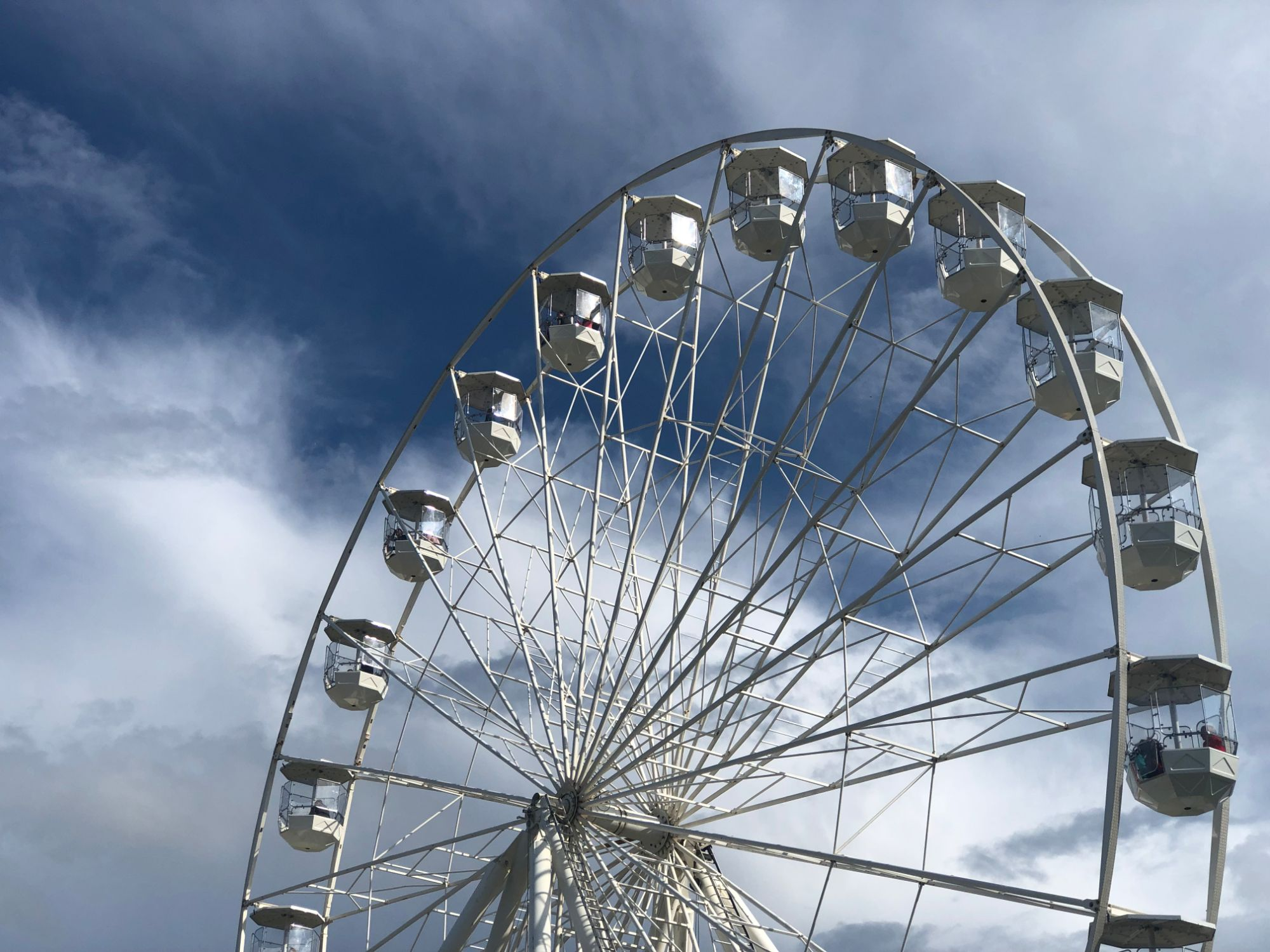free stock image photo big wheel sky