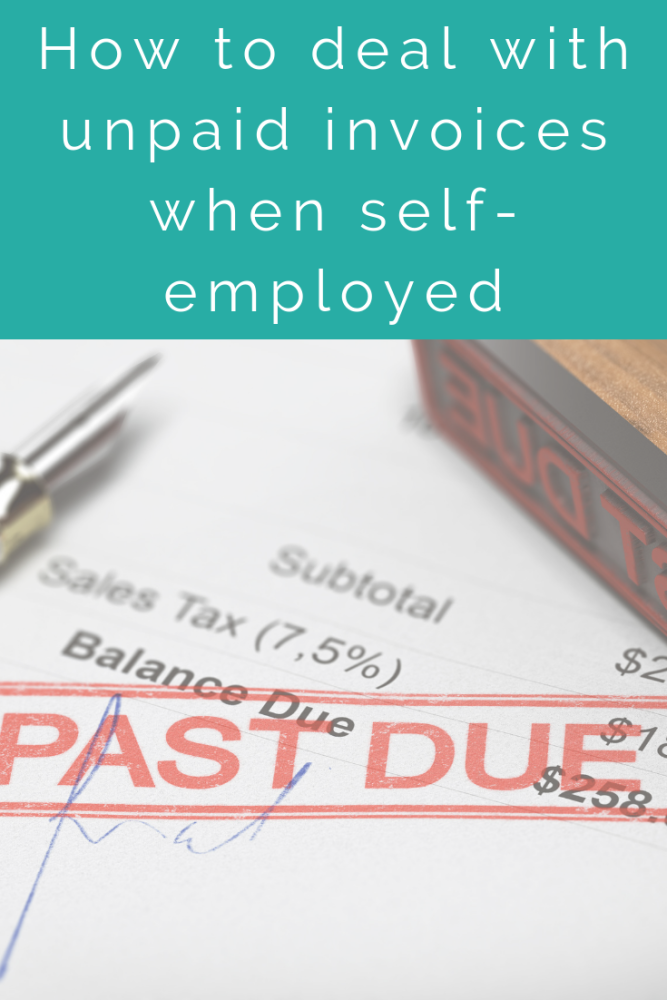 How to deal with unpaid invoices when self-employed (1)