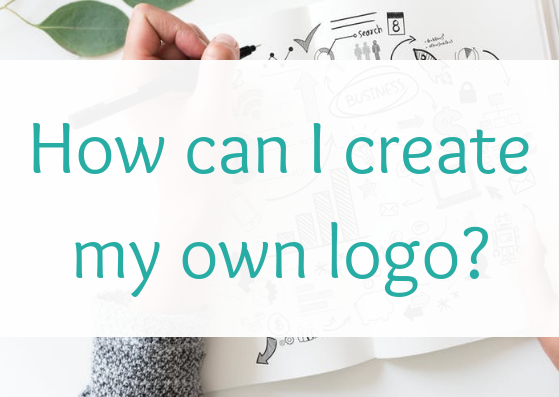 How can I create my own logo?