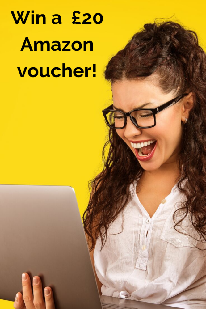 win a £20 amazon gift voucher