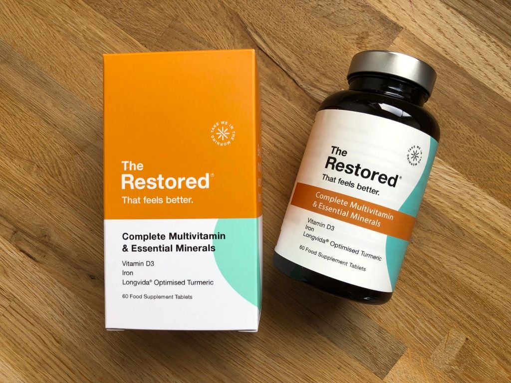 The Restored Complete Multivitamin review: natural and vegan