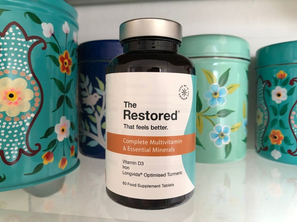 The Restored multivitamin review natural vegan