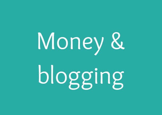 Money and blogging free stock images