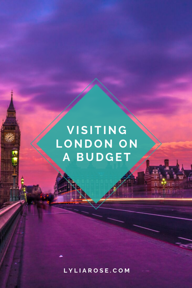 Visiting London on a budget (1)