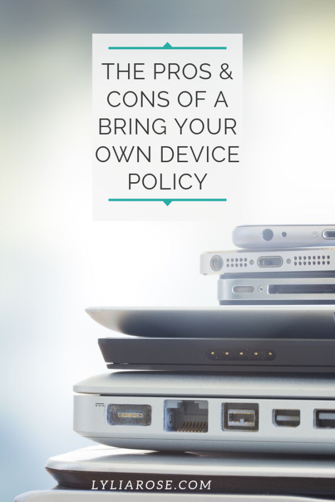 The pros and cons of having a bring your own device policy (1)