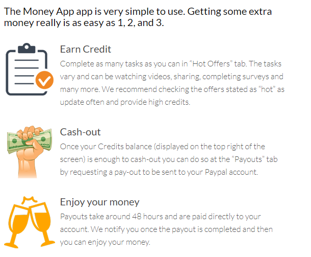 make money with get paid to app money app
