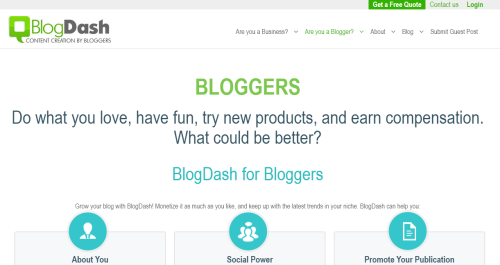 List of websites to find paid blogging opportunities for your blog - blogda