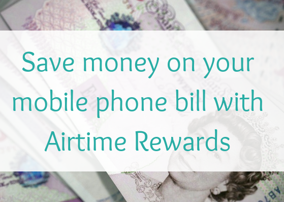 Save money on your mobile phone bill with Airtime Rewards