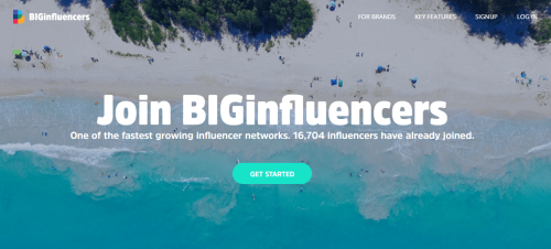 BIGinfluencers get paid to blog