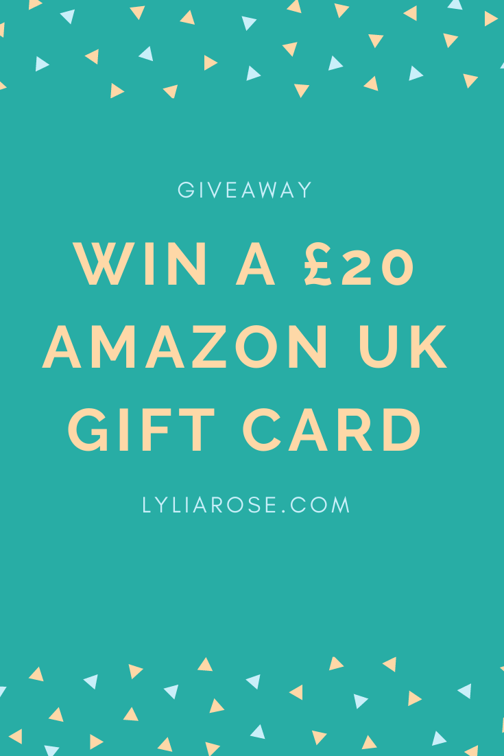 Win a £20 Amazon UK gift card