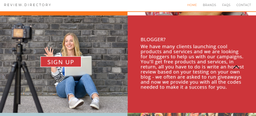 find review items blog blogging uk