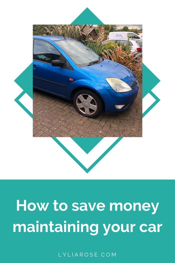 How to save money maintaining your car