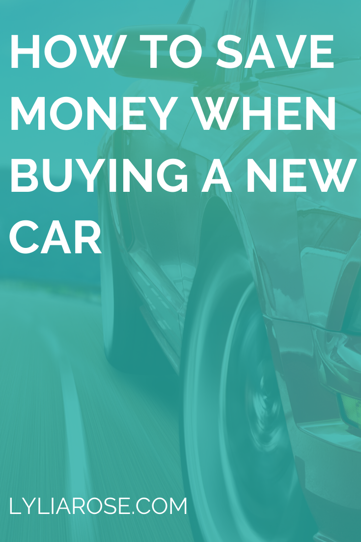 How to save money when buying a new car (1)