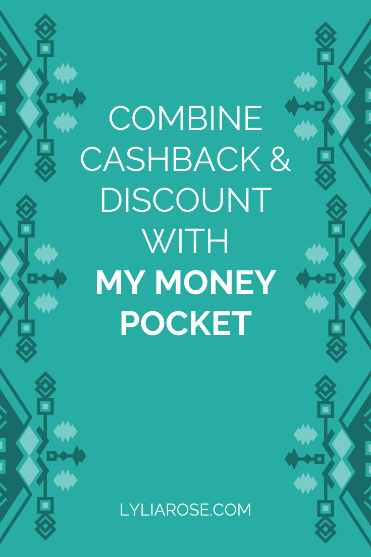 Combine cashback and discount with My Money Pocket (1)