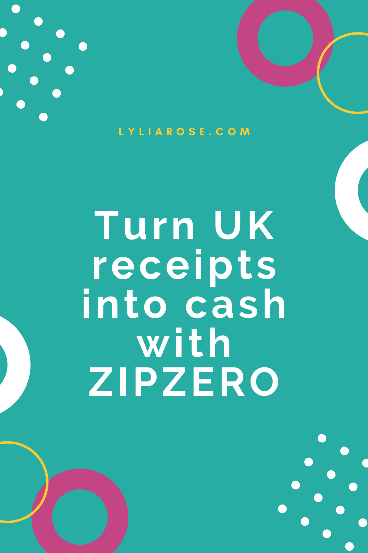 ZIPZERO app review_ snap receipts to save money on household bills