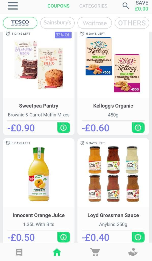 Save money at the supermarket with coupon app GreenJinn offers