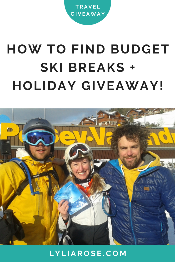 How to find budget ski breaks + holiday giveaway