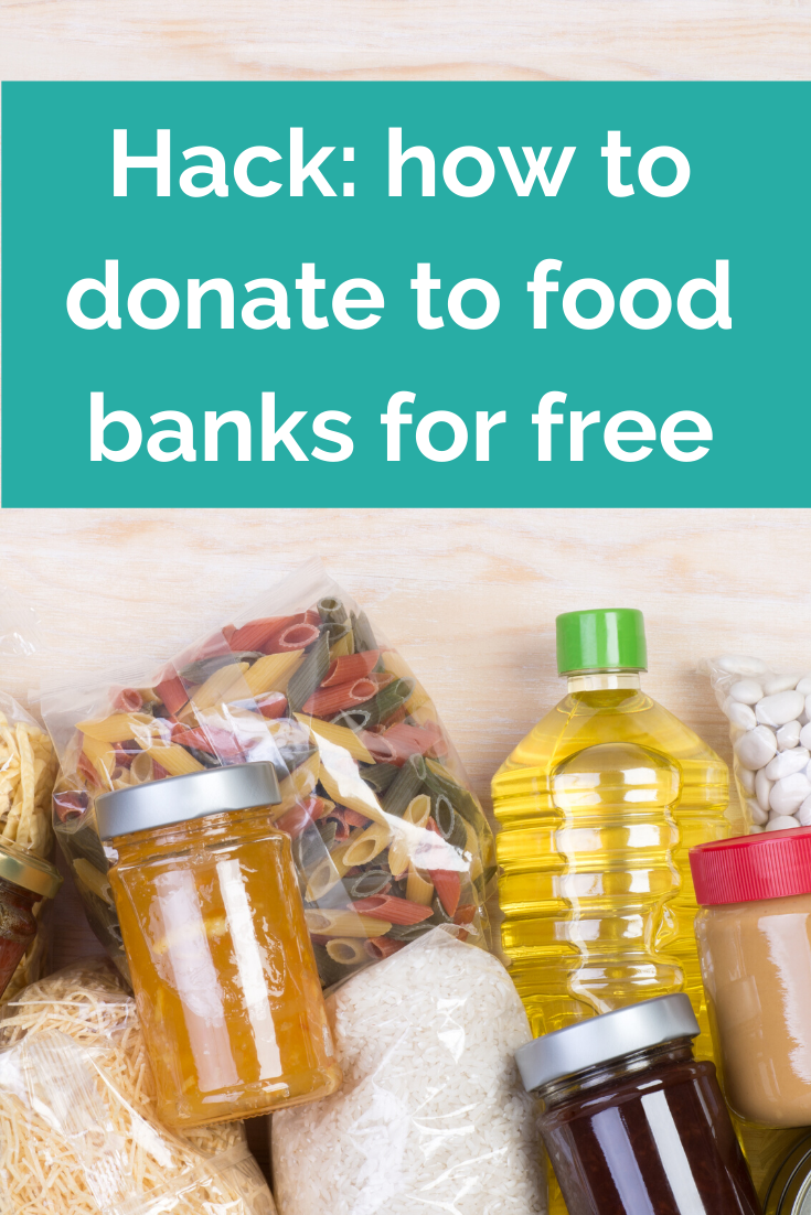 How to donate to food banks for free (1)