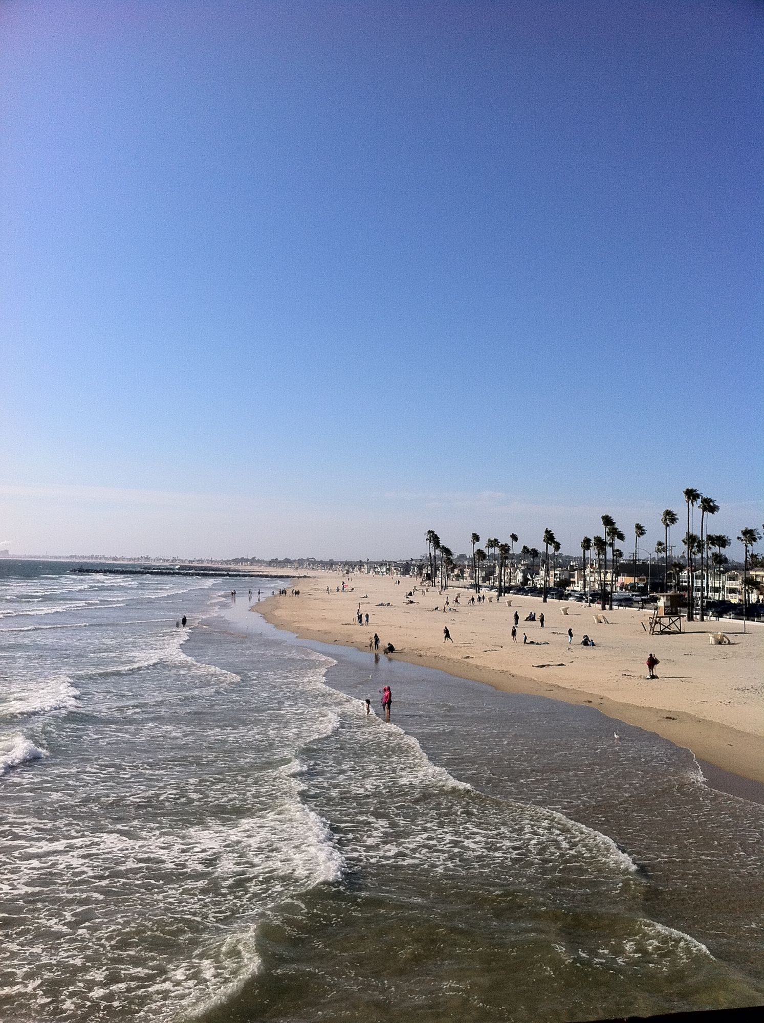 Free stock photo Orange County Los Angeles Beach USA