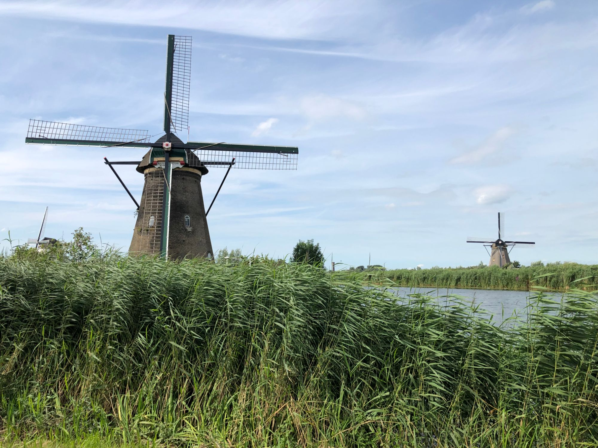 Free stock photo Kinderdijk Windmills UNESCO World Heritage Site Netherlands