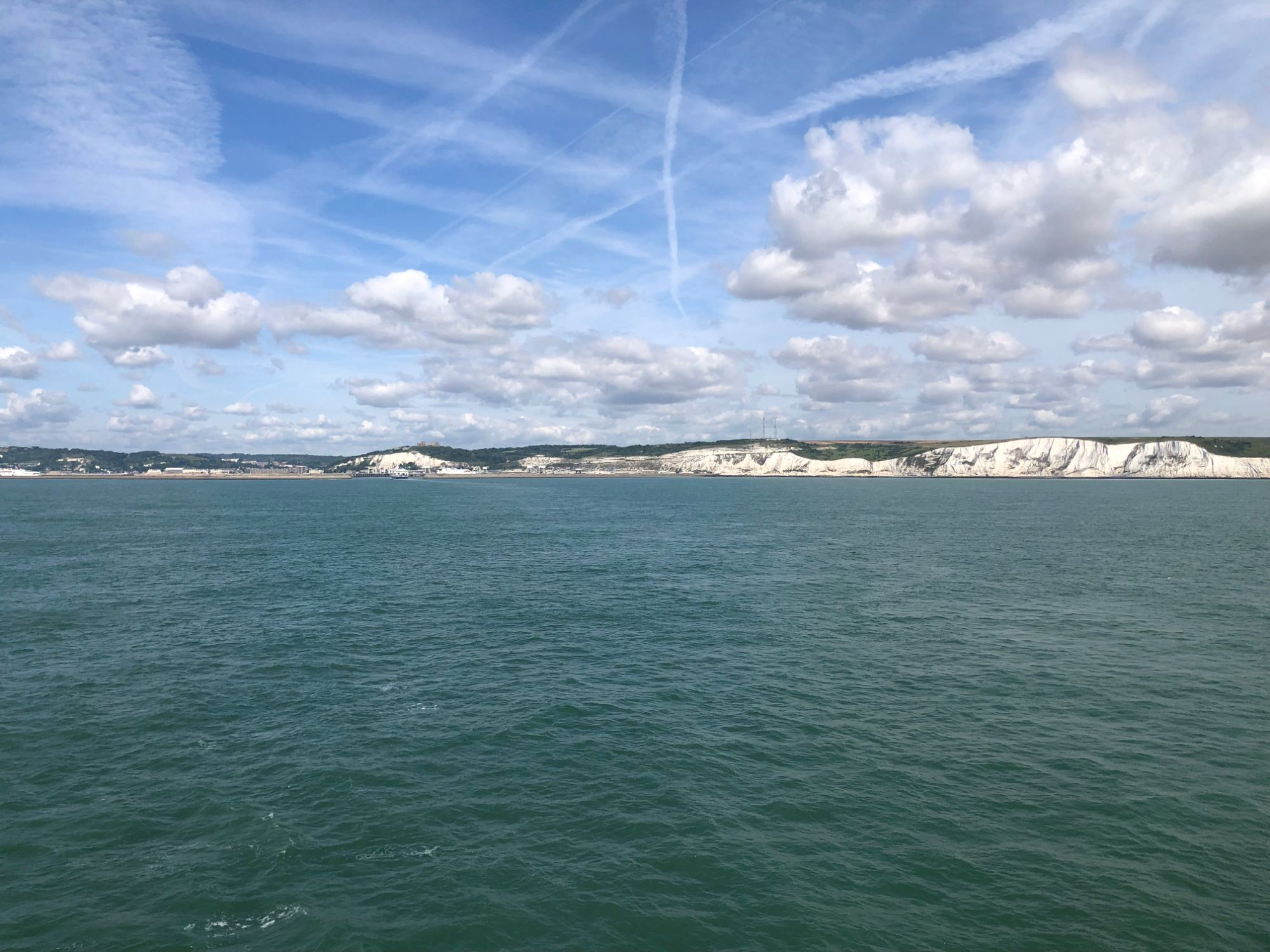 Free stock photo White Cliffs of Dover England UK