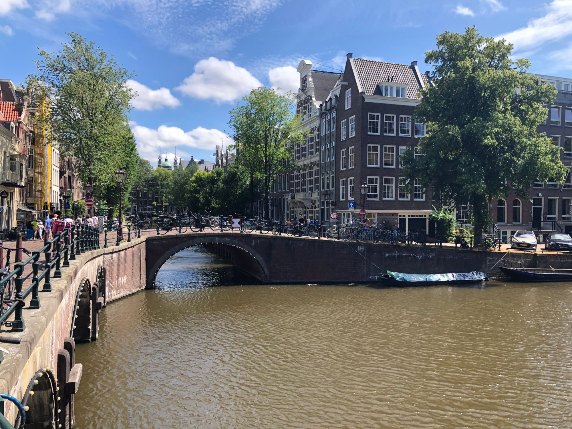 Free stock photo  Amsterdam canal