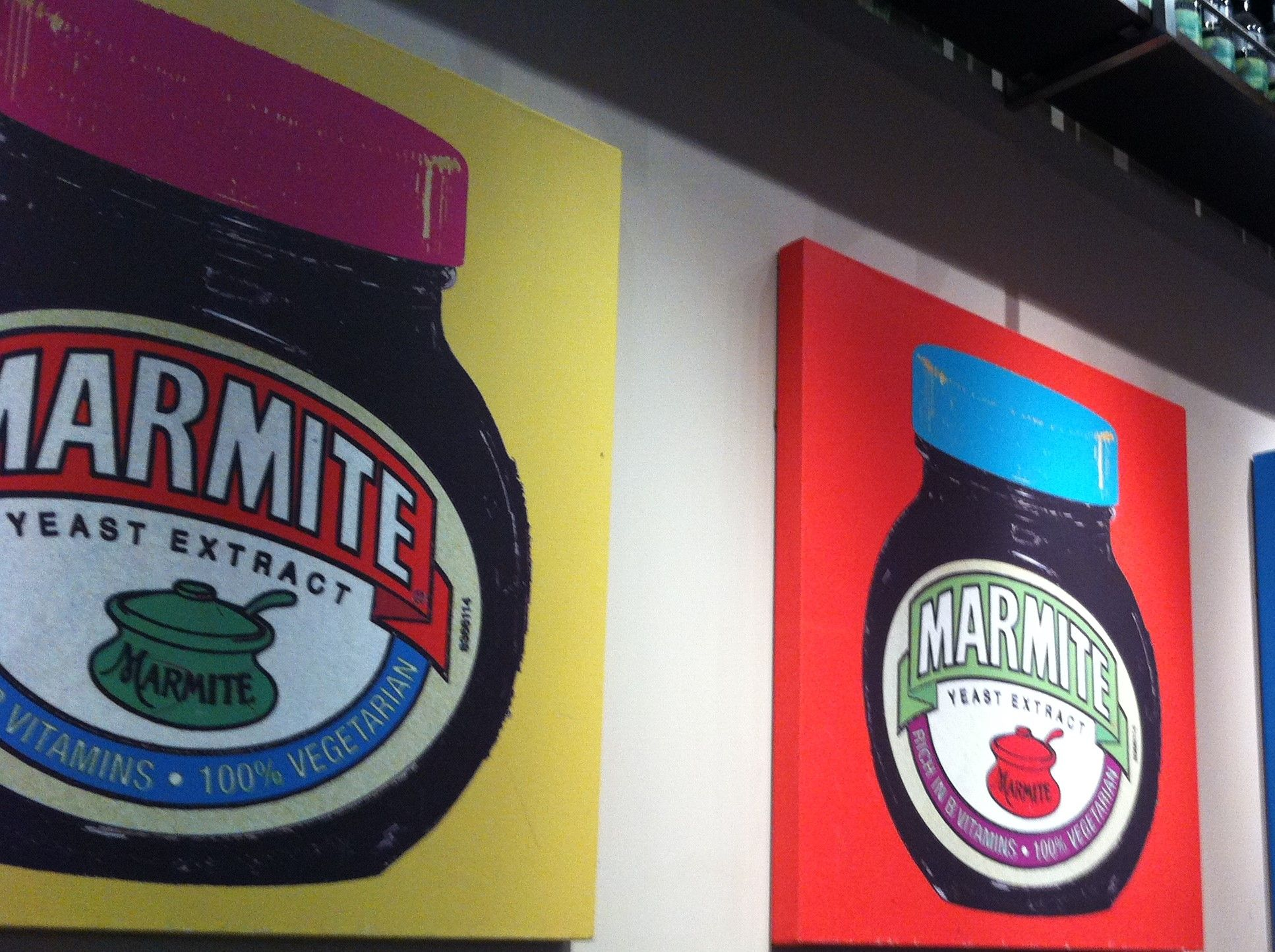 Free stock photo Marmite canvas art poster
